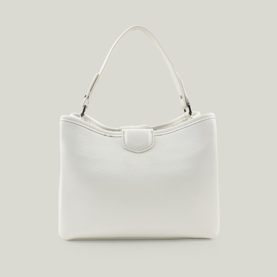 Tote bag Emerald Envy White
