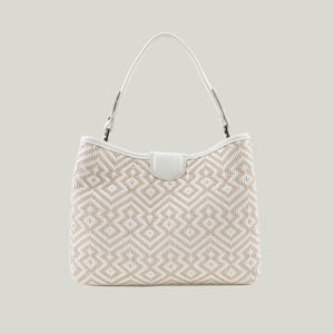 Tote bag Emerald Envy White - Dminimis