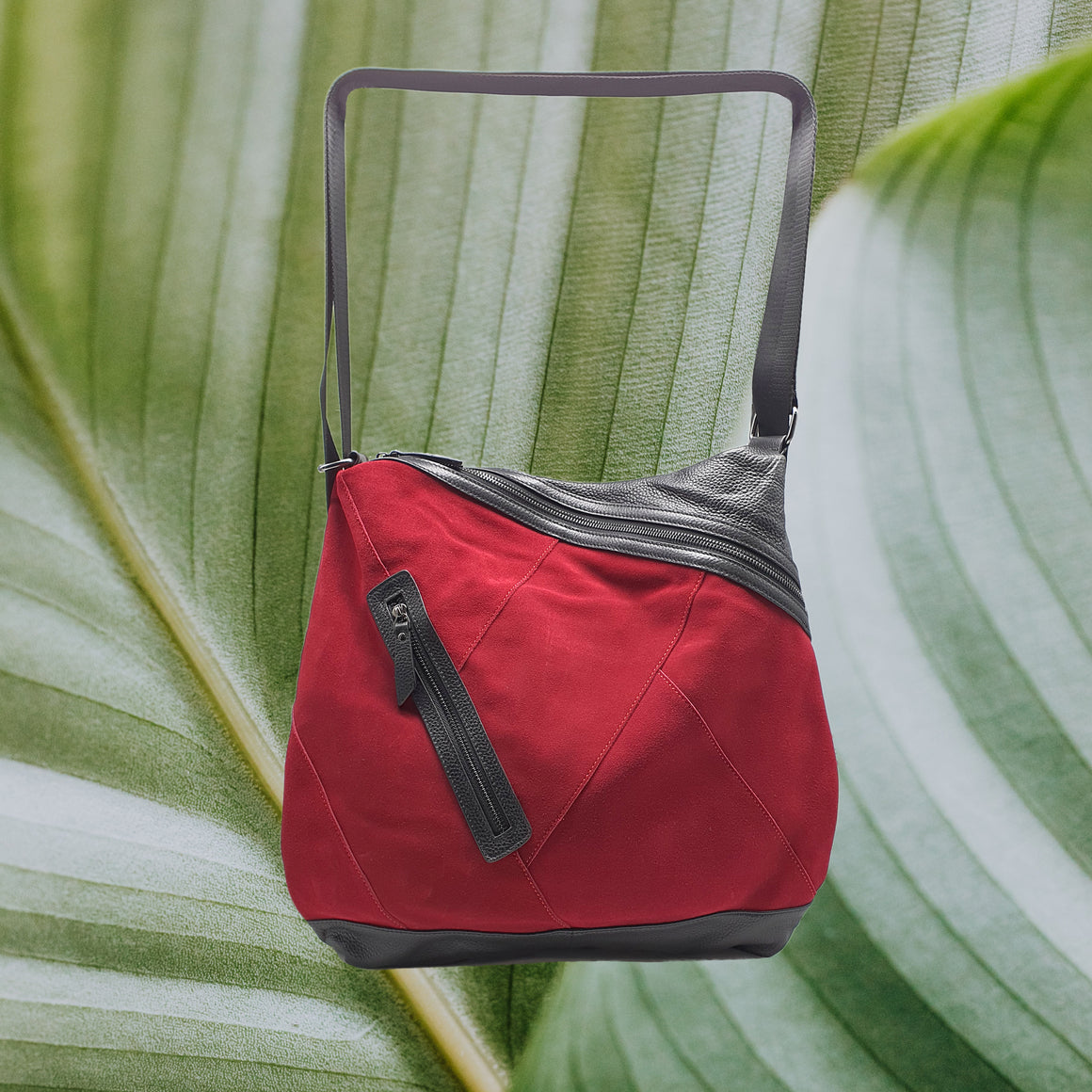 Backpack & Messenger bag, Double-Delight Red