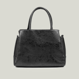Handbag, Executive-Extravagant Black - Dminimis