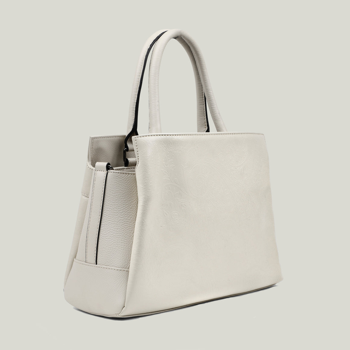 Handbag, Sleek Surprise Ivory - Dminimis