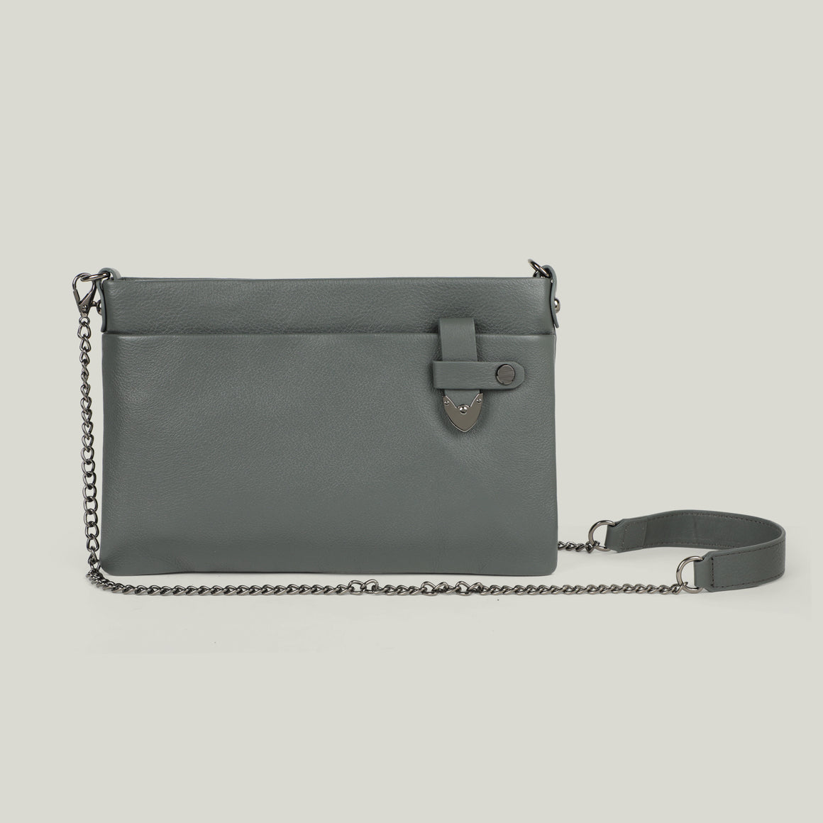 Sling Pouch, Lunch-Lover, Grey - Dminimis