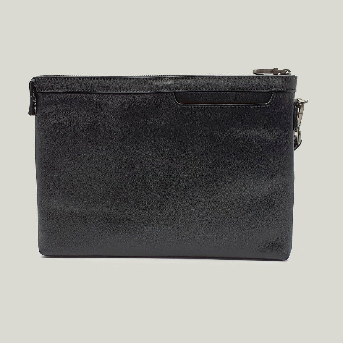 Ipad pouch leather, Series-Five Black - Dminimis