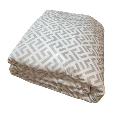 Reversible Chevron Print Adult Weighted Blanket