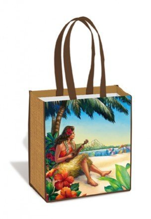 Vintage Hawaii Island Tote Bag - DHS Deals