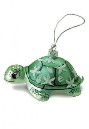 Island Heritage Honu Turtle Collectible Glass Ornament - DHS Deals