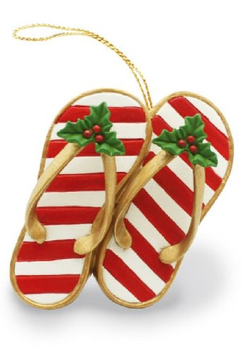 Island Heritage Festive Slippers Ornament - DHS Deals