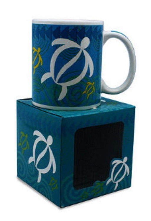 10 oz. Island Treasures Mug, Swirling Honu - DHS Deals