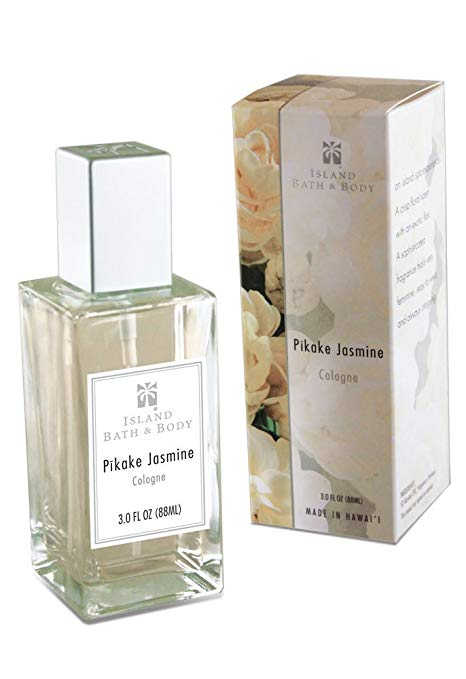 Island Bath & Body Pikake Jasmine Cologne 3.0oz. - DHS Deals