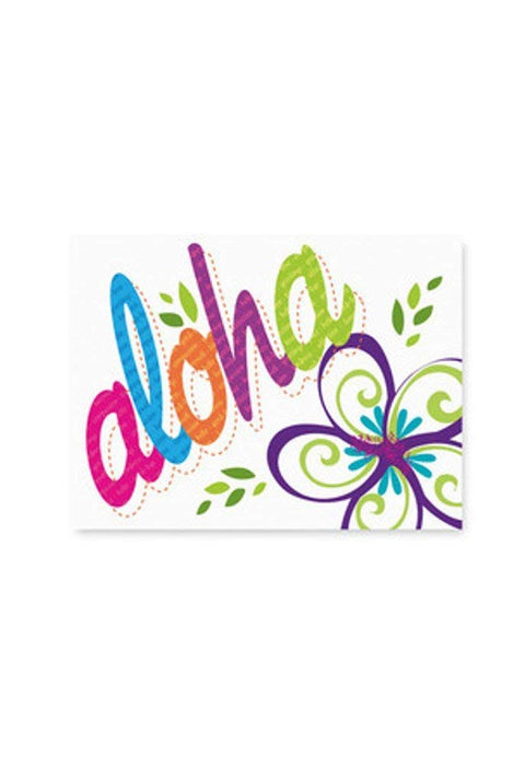 Bold Aloha Mahalo Cards 10-Pack - DHS Deals