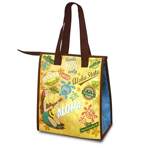 Small Non-Woven Lunch Bags Retro Aloha - DHS Deals
