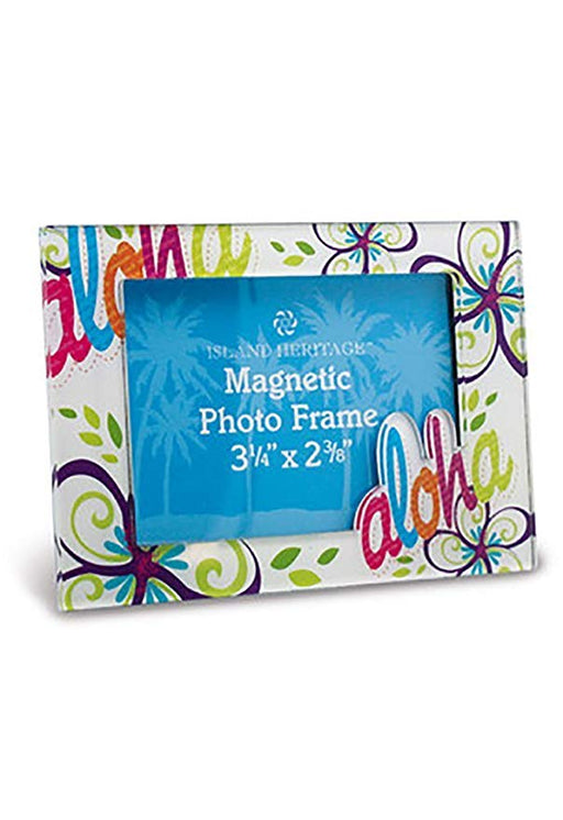 Bold Aloha Photo Frame Magnet - DHS Deals