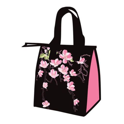 Hawaiian Style Insulated Cherry Blossoms Lunch Bag - DHS Deals