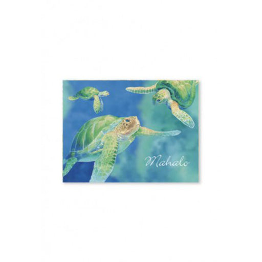 Hawaiian Honu Mahalo Cards Pack of 10 - DHS Deals