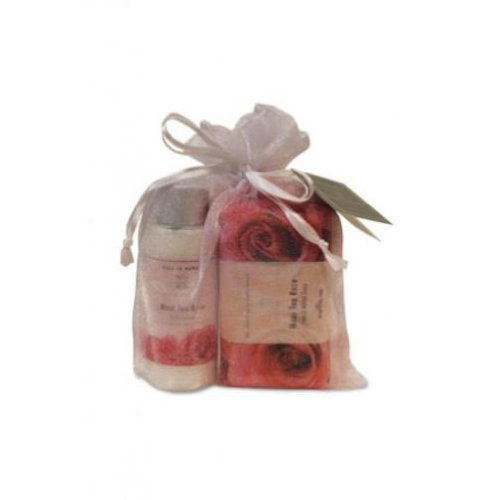 Bath & Body Maui Tea Rose Shower Sampler Gift Set - DHS Deals