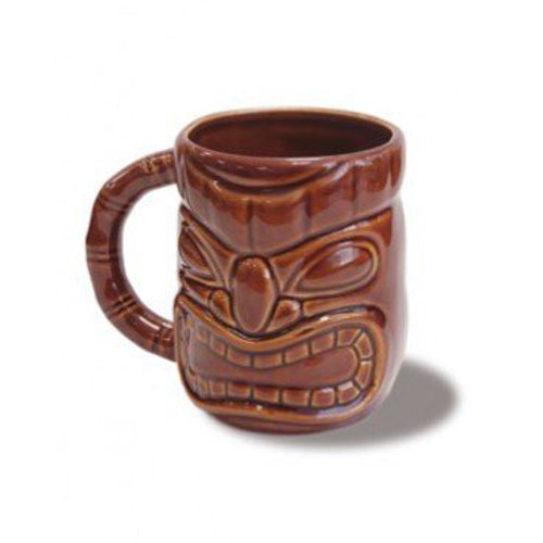 Island Heritage 12 Oz. Tiki Mug Handpainted Fine Detailed Sculpture - DHS Deals