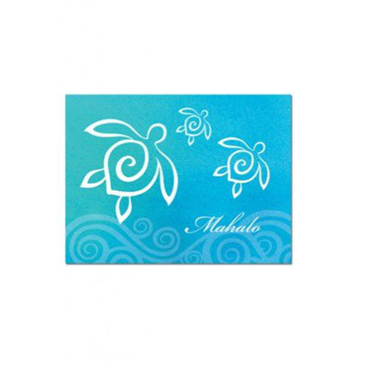 Mahalo Cards Honu Swirl 10 Pack - DHS Deals