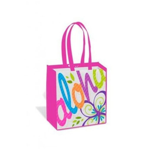 Pink Aloha Hawaiian Tote Bag - DHS Deals