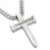 Spirit & Truth Man of God Necklace Stainless Steel Sword Cross Pendant - DHS Deals