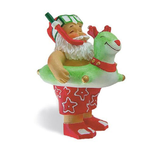 Island Heritage Beach Bound Santa Claus Christmas Ornament - DHS Deals