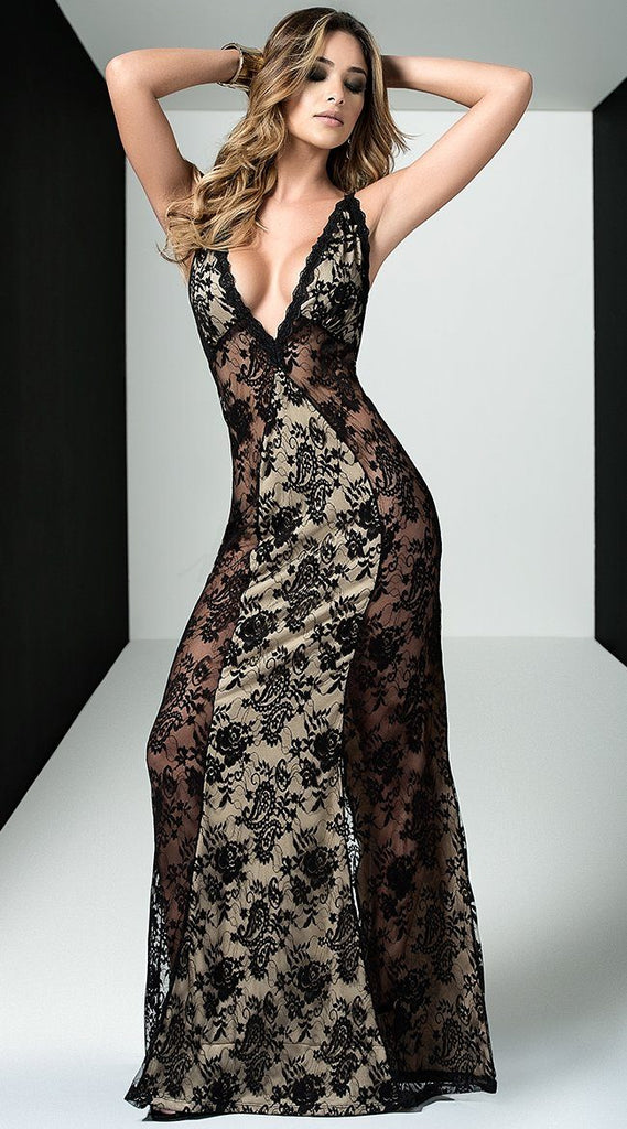 Seductive Lace Gown