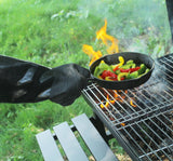 RAPICCA Heat Resistant BBQ Gloves 17in 932°F Female M size for small hands