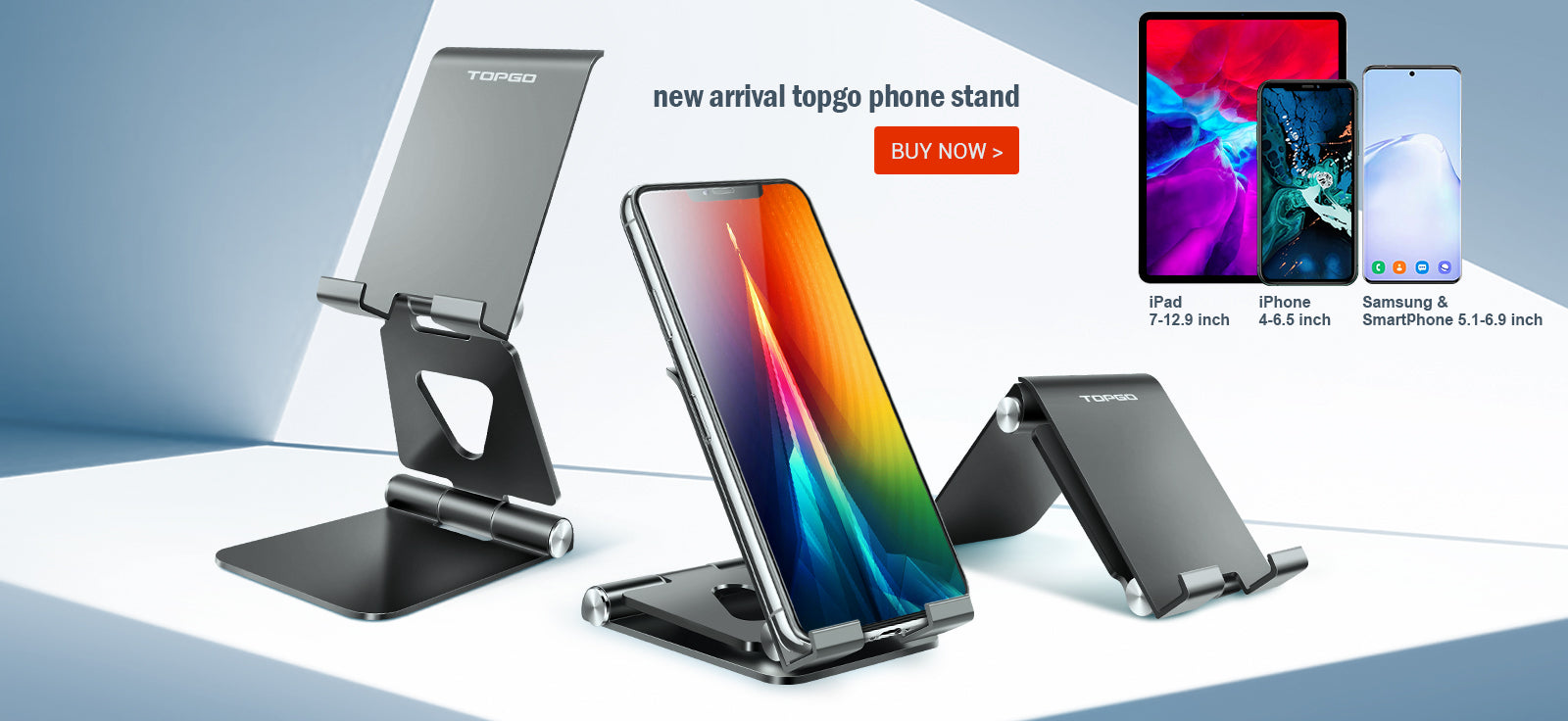 TOPGO cell phone stand for desk