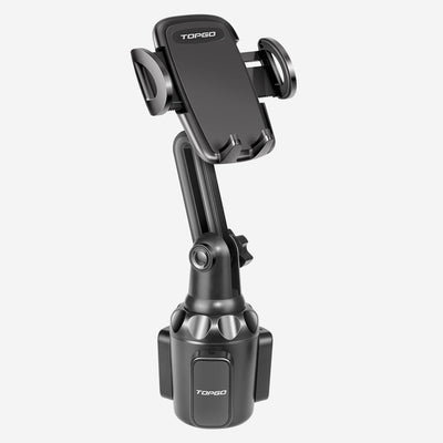 [Extend version] TOPGO Car Cup Holder Phone Mount Adjustable Pole Version