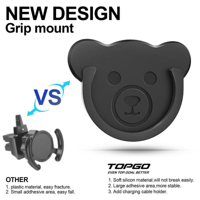 TOPGO Car Grips Mount for Phone Stand