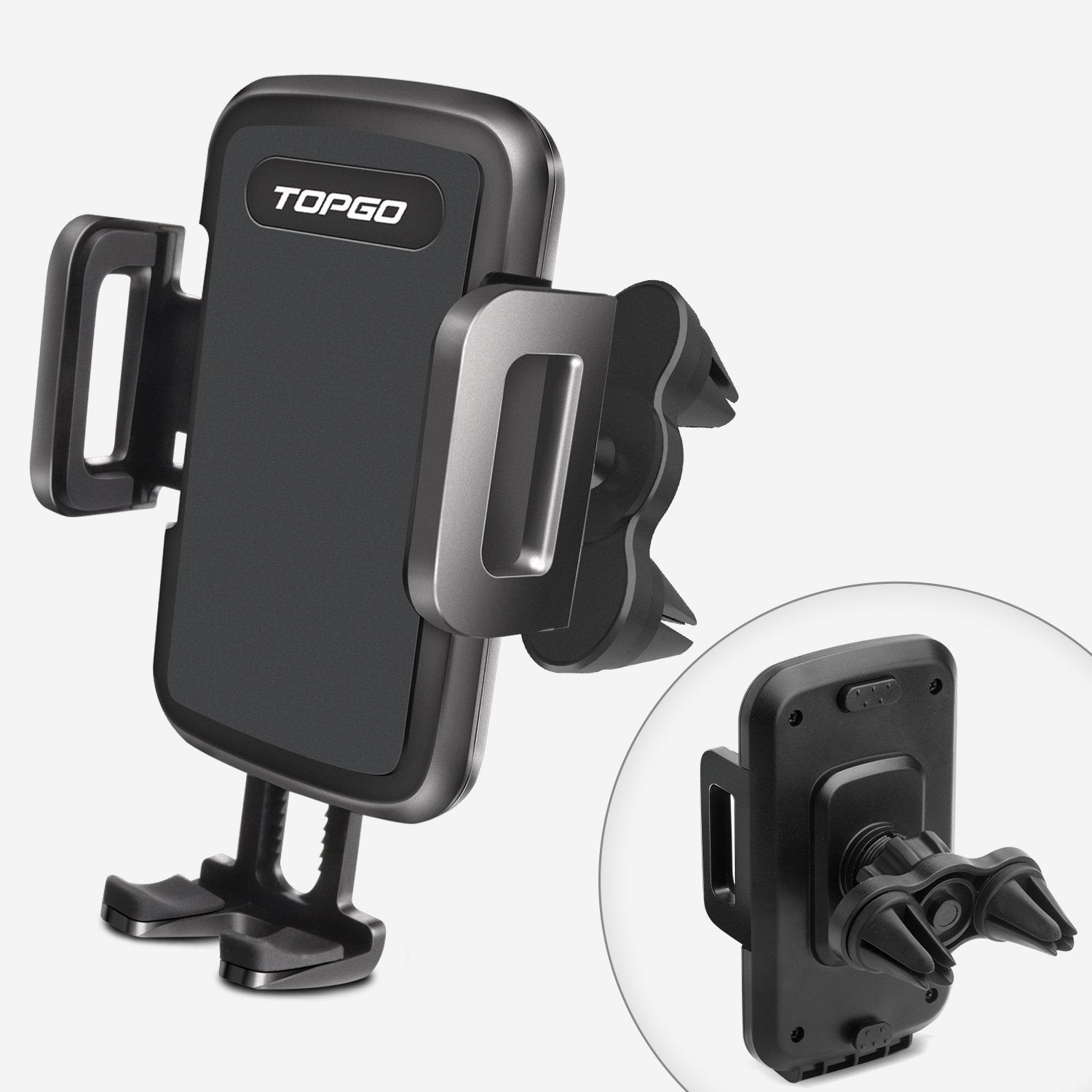 TOPGO cup phone holder for car