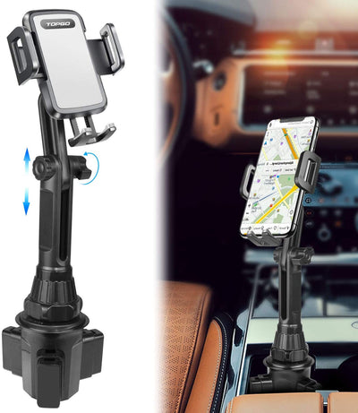 Car Cup Holder Phone Mount Pole Version 3.0