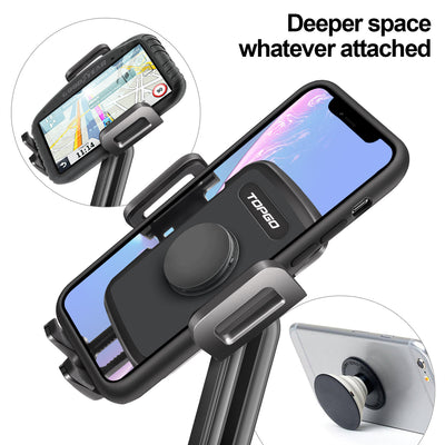 TOPGO Cup Holder Phone Mount middle pole version