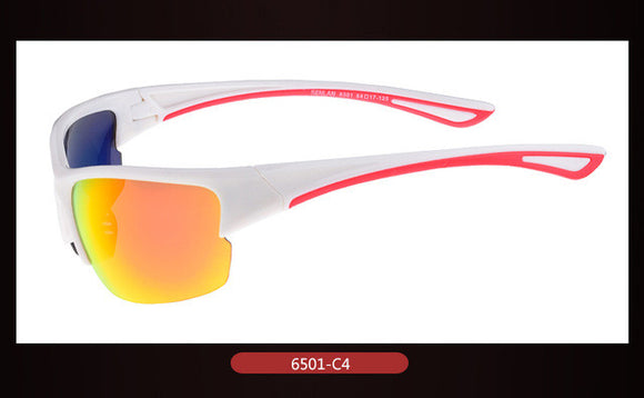Men Sport Sun Glasses Women Driving Running Outdoor Goggle Safely Mirror Cycle Sunglasses