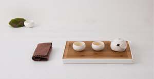 Portable Bamboo Tea Board