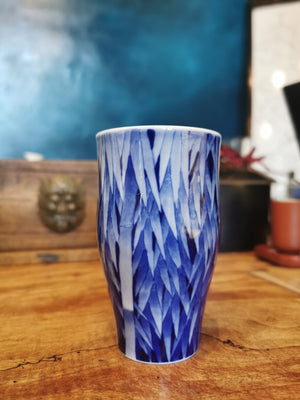 Master Xu's bamboo Qinghua tall fragrance single cup