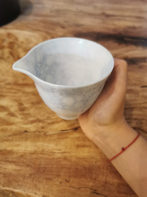 Bubble glaze sharing cup