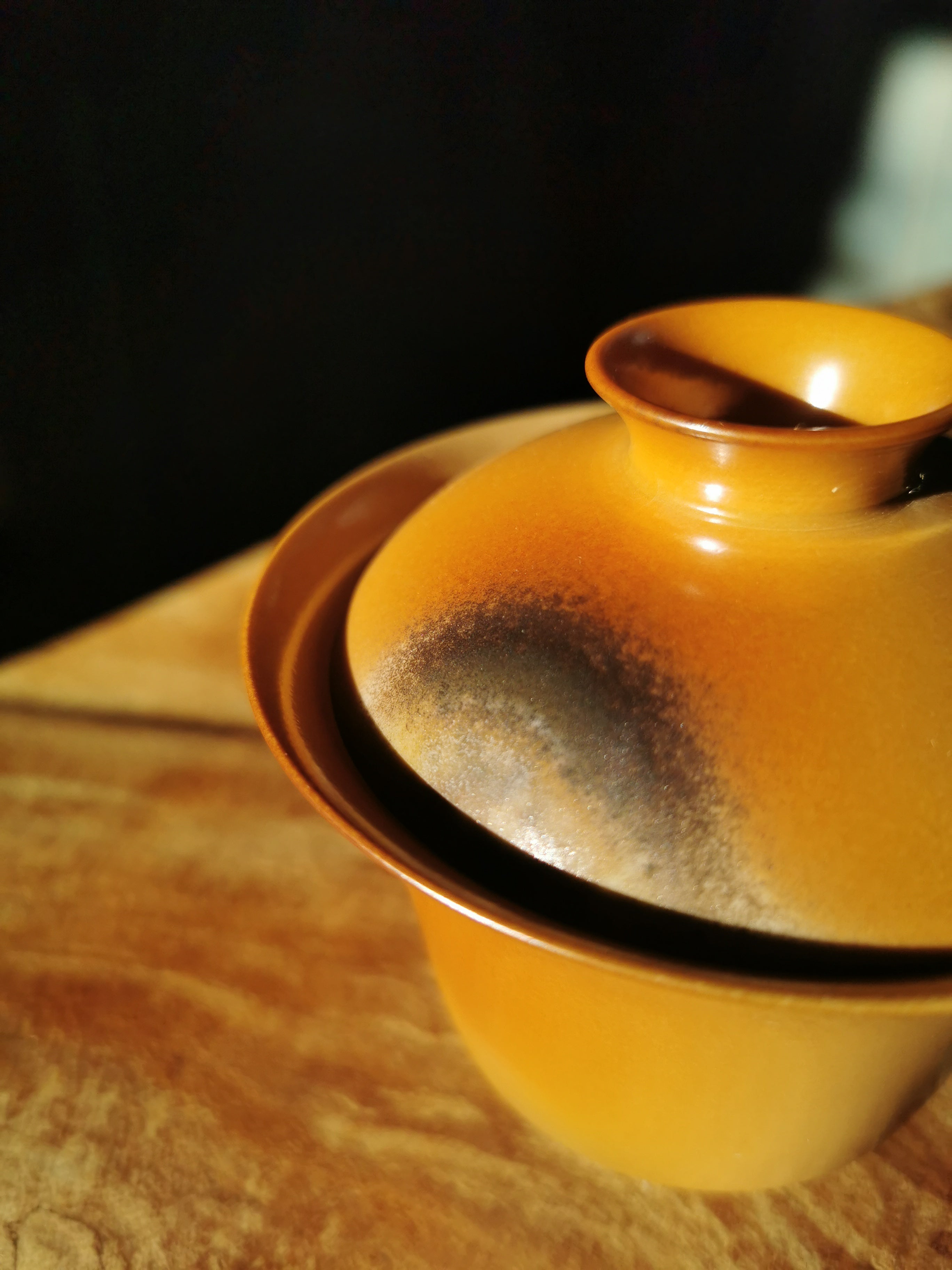 Elegant Woodfired Large Gaiwan