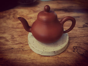 Ru yao (Ru kiln)tea pot holder (壶承hu cheng)