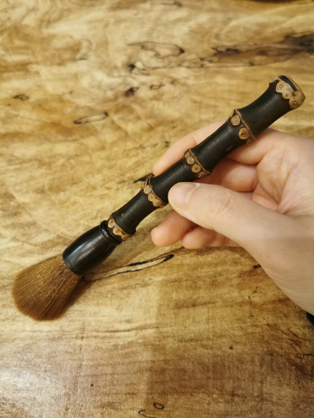 养壶笔Raising pot brush