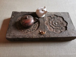 Antique brick tea board Hu cheng