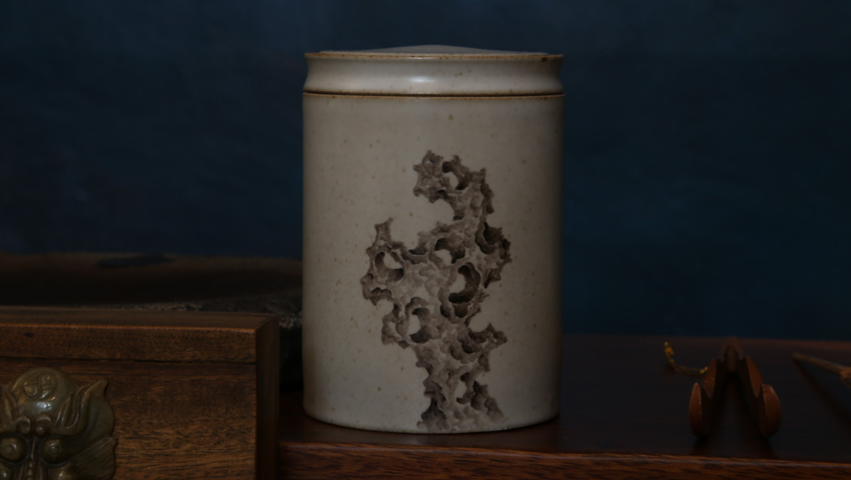 Tai Lake Rock Tea Jar