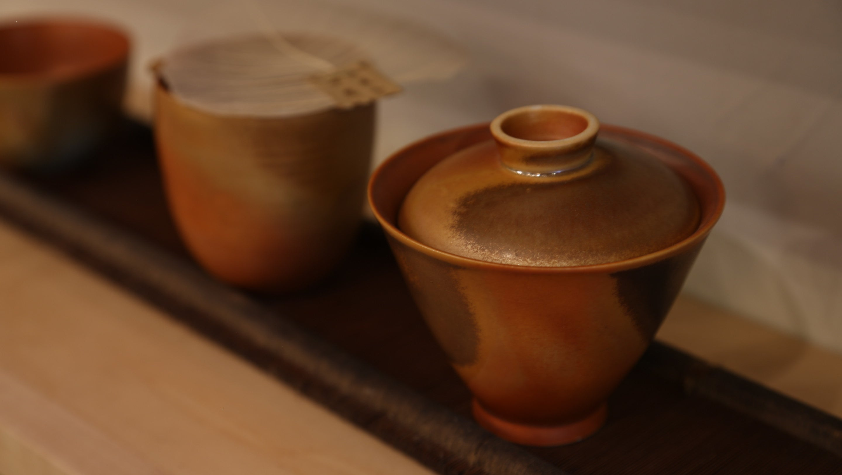 Wood Fired Gaiwan Set