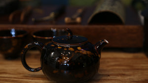 Turtle's shell Glaze Tea Set