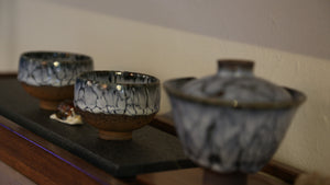 Driping Glaze Gaiwan Set