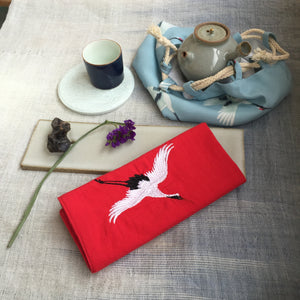 Crane Tea Cloth