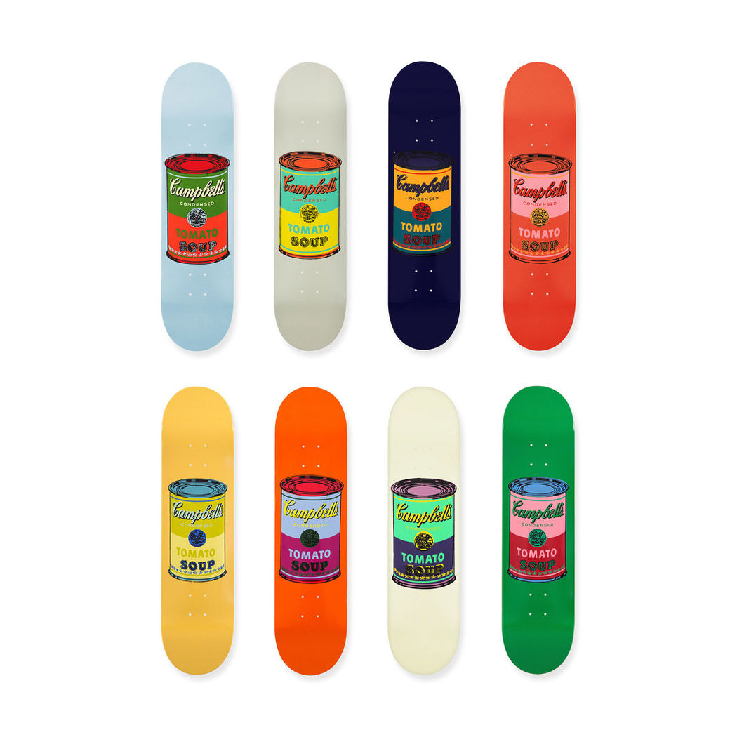 THE SKATEROOM ANDY WARHOL CAMPBELL SOUP