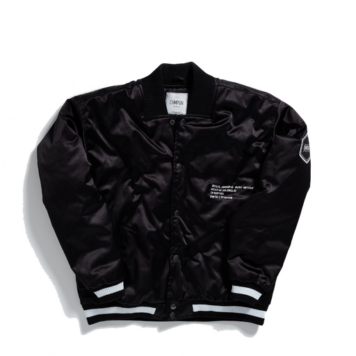 THE FRENCH WAVE - CHMPGN X ROCHE MUSIQUE SATIN JACKET