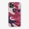 Alligator Case Camo iPhone 11 Pro | Cherry Field - Rose Gold