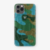 Alligator Case Camo iPhone 11 Pro Max | Jungle - Stainless Steel