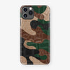 Alligator Case Camo iPhone 11 Pro | Woodland- Black